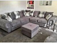 NEW SHAFFINA CORNER AND 3+2 SEATER SOFA SET AVAIALBAL IN STOCK IN CHEEP PRICE