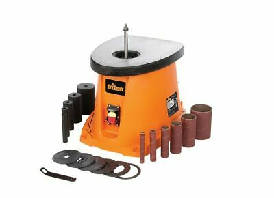 Triton Spindle Sander Oscillating 110v 450w Power Switch Dust Port Woodworking