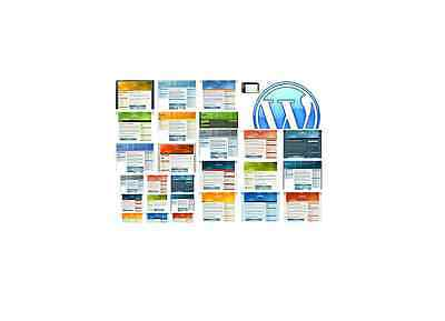 100 Premium Wordpress Themes Templates With Private Label Rights  Plr  Cd