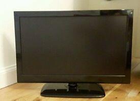 "Black Trim 19"" Portable Marks & Spencer LED TV /DVD Player,"