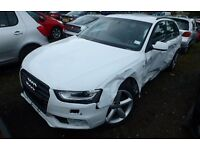 AUDI A4 2.0 TDI 6 SPEED MANUAL 2011 BREAKING FOR PARTS