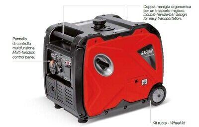 Generador Inversor Silenciado Rato R3000iE Arrancador De Eléctrico Con Motor 4T