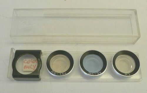 Minox 35 Filter Set - Complete 3 Filter Set R3 R6 B6 - Made in Germany