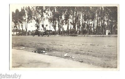 Vintage PHOTO CALIFORNIA OVAL TRACK RACE CAR Racing Men Women dirt Antique