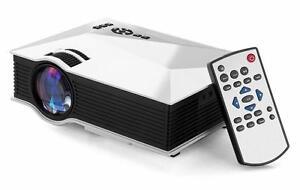 Wireless Projector LED Projecteur HD Sans-fil WIFI HDMI Video Cinema 2801