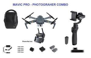 Mavic Pro - Fly More + OMSO Mobile 2 - Traveler Combo
