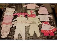Bundles of girls clothing