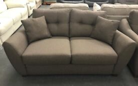 DFS fabric 2 seater sofa and armchair