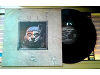 The Cult – Spiritwalker, VG, 12 inch single, released in 1984, 80s Hard Rock Goth Post Punk