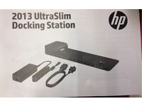 HP Ultraslim Docking Station for elitebook usb 3.0 new boxed