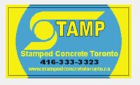 Stamped concrete Toronto.ca 416 333-3323 driveways  & patios
