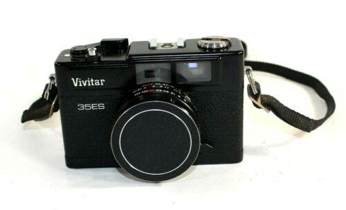 Vivitar 35ES Camera Automatic 40mm 1:1.7 Lens Auto Flash Untested