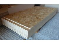 50 pieces of NEW Norbord Sterling OSB3 Board 11mm x 48in x 21in (1220mm x 530mm)