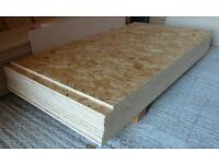 10 pieces of NEW Norbord Sterling OSB3 Board 11mm x 48in x 21in (1220mm x 530mm)