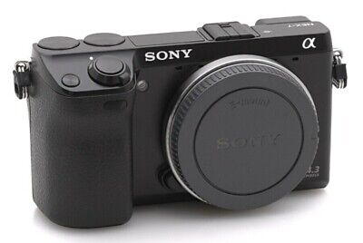 SONY Alpha NEX-7 24.3MP Digital Camera - Black (Body Only) in VGC