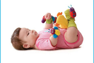 Lamaze 'Hand and Foot Finders' Rattle Infant Toy