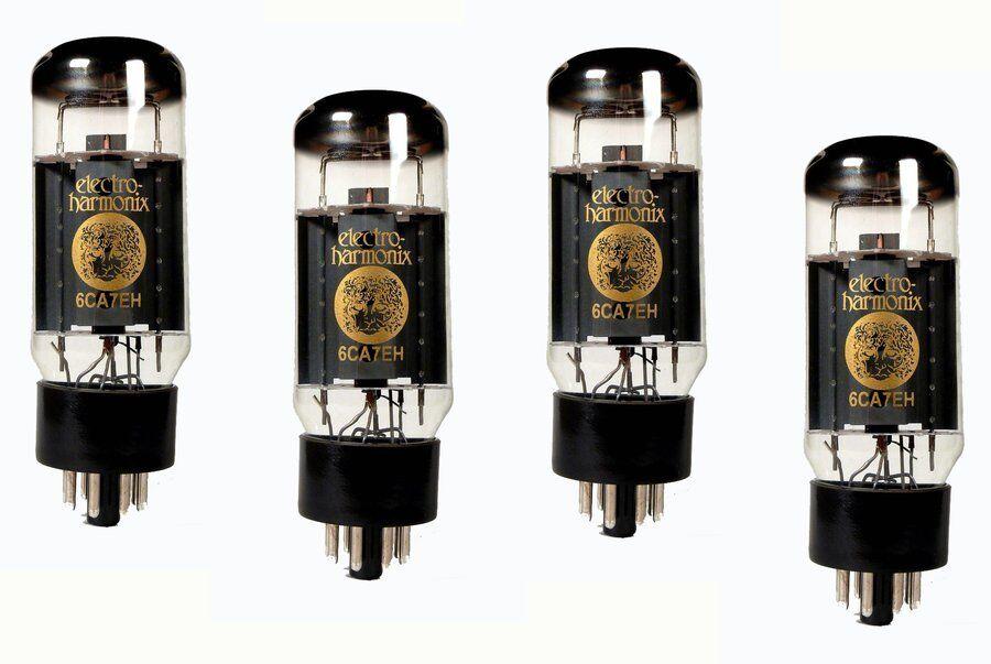 Electro-Harmonix 6CA7 EH PL Platinum Matched Quad - Röhren Quartett