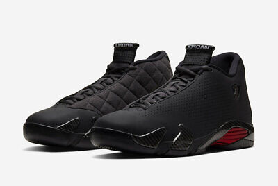 Nike Air Jordan Retro 14 SE Black Ferrari Size 8-13 Black Anthracite BQ3685-001