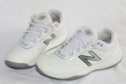 New Balance Fusev2 REVLite White Turf Softball Shoes STFUSEW2 Women