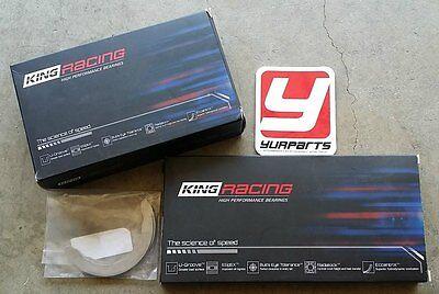 Rod Main Engine Bearings - King Race Bearings Main Rod Thrust Set XP Series STD Size Honda Acura B16 B18 LS