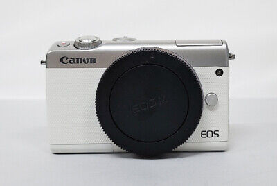 Canon EOS M100 24.2MP Digital Camera WHITE Body Only