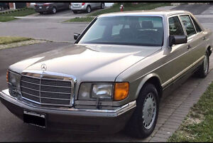 W126 1989 Mercedes Benz 420 SEL , Certified,E-tested