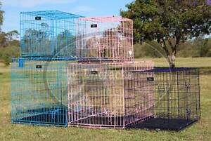 Metal Collapsible Pet/Dog/Cat Crate/Cage and Cage Covers Greenbank Logan Area Preview