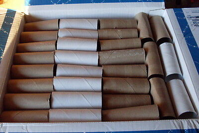 Lot of 200 Toilet Paper rolls Cardboard tubes- School Craft Project Supplies