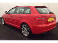 2010 AUDI A3 SPORTBACK 1.6 TDI S-LINE GOOD / BAD CREDIT CAR FINANCE FROM 34 P/WK