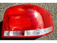 Audi A3 8P off side (right) tail light from 2006 car
