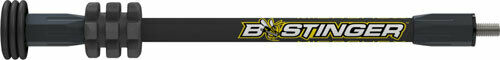"""Bee Stinger Stabilizer Microhex Hunting 10"""" Black MHX10MB"""