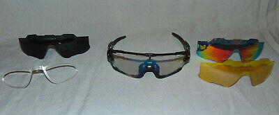 Oakley Sunglasses with 3 Changeable Lens and Case