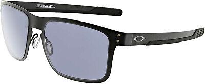 Oakley Men's Holbrook Metal OO4123-01 Black Square (Men's Oakley Holbrook Sunglasses)
