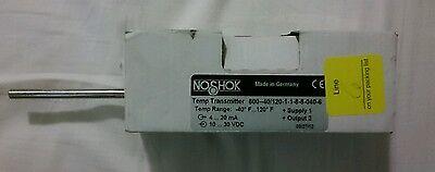 Noshok 800-40120-1-1-8-8-040-6 Rtd Temperature Transmitter