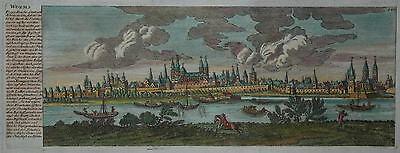 Worms - Stadtansicht von Gabriel Bodenehr - Originaler Kupferstich um 1730