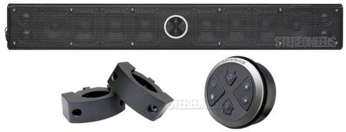PowerBass XL-1200 Marine Amplified Bluetooth Soundbar Bar XL-SBCLAMP XL-SBCON