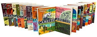 Inspector Montalbano Collection Andrea Camilleri 18 Books Set(1-18)Treasure Hunt