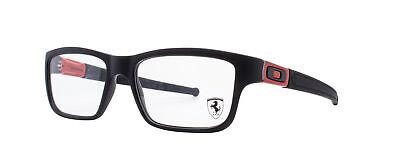 Oakley Marshal RX Eyeglasses OX8034-0953 Satin Black / Ferrari Red [53-17-143]
