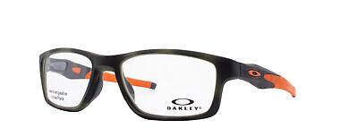 Oakley Crosslink MNP RX Eyeglasses OX8090-0753 Green Tortoise Frame [53-17-137]