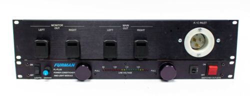 Furman PL Plus Power Conditioner with Jensen Iso Max and Rack Plate