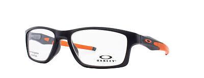 Oakley Crosslink MNP RX Eyeglasses OX8090-0155 Satin Black Frame [55-17-137]
