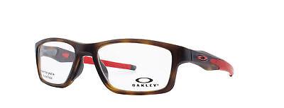 Oakley Crosslink MNP RX Eyeglasses OX8090-0853 Brown Tortosie  Frame [53-17-137]