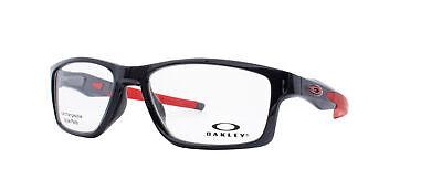 Oakley Crosslink MNP RX Eyeglasses OX8090-0355 Polished Black Ink [55-17-137]