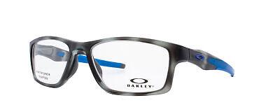 Oakley Crosslink MNP RX Eyeglasses OX8090-0655 Grey Tortoise Frame [55-17-137]