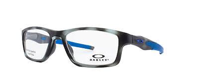 Oakley Crosslink MNP RX Eyeglasses OX8090-0653 Grey Tortoise Frame [53-17-137]