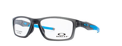 Oakley Crosslink MNP RX Eyeglasses OX8090-0253 Satin Grey Smoke Frame[53-17-137]