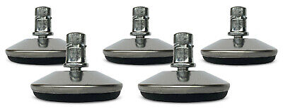 Office Chair Low Profile Glides 716 Stem - Set Of 5