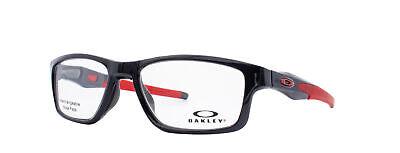 Oakley Crosslink MNP RX Eyeglasses OX8090-0353 Polished Black Ink [53-17-137]