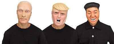 Political Pundit Vladimir Putin Donald Trump Kim Jong Un Face Mask - Political Mask