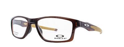 Oakley Crosslink MNP RX Eyeglasses OX8090-0455 Polished Rootbeer [55-17-137]